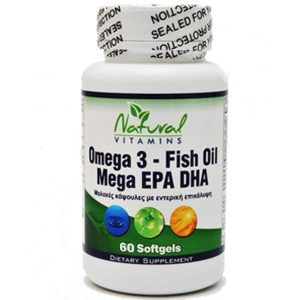 natural vitamins omega 3 fish oil image
