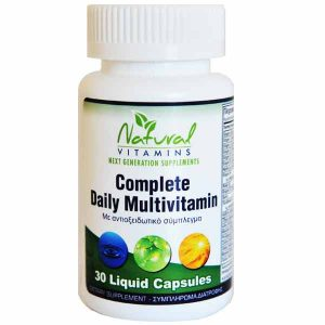 natural vitamins complete daily multivitamin supplement