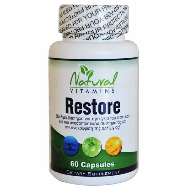 natural vitamins restore supplement