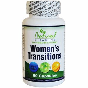 natural vitamins women's transitions supplement