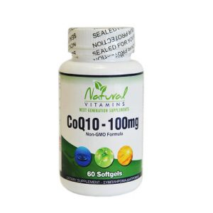 Natural vitamins coq10 supplement