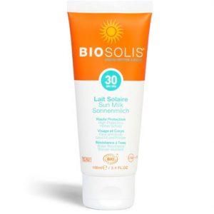 biosolis suncare milk spf30
