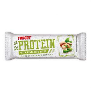 twiggy protein bar with pistachio