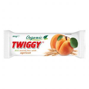 twiggy organic muesli bar with apricot